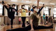 JO Tokyo 2020 : des pom-pom girls seniors pleines de vitalité au Japon