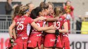 Les Red Panthers battent la Chine 4-1 et grimpent à la 3e place du classement
