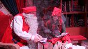 Sans touristes, ambiance solitaire pour le Père Noël dans son village de Laponie