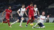 Premier League: Liverpool stoppe sa série noire, bat Tottenham et se replace