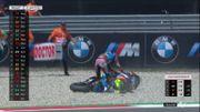Moto2 : Les leaders Marquez et Baldassarri s'accrochent et se disputent, Fernandez s'impose à Assen