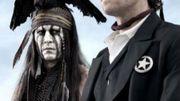 """La première photo officielle pour """"The Lone Ranger"""", avec Johnny Depp et Armie Hammer"""