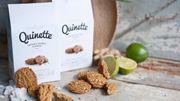 Du quinoa sans gluten et en biscuit, c'est Quinette