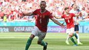 Euro 2020: Revivez le but de la Hongrie face à la France