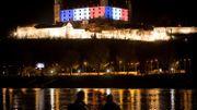 Le château de Bratislava, en Slovaquie.