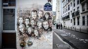 Une fresque en hommage aux 11 personnes tuées dans les bureaux de Charlie Hebdo
