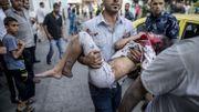 De nombreux enfants palestiniens sont victimes de l'offensive israélienne, dans la Bande de Gaza