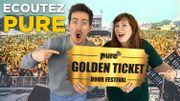 Golden Ticket pour le Dour Festival: rendez-vous dès lundi dans Snooze