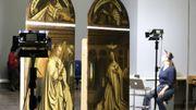 """Les panneaux restaurés de """"L'adoration de l'Agneau mystique"""" visibles le 13 octobre"""