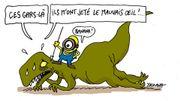 """""""Les Minions"""" écrabouillent les dinosaures au box-office"""