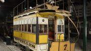 Tram hippomobile 7 (George Starbuck & Company) conservé au Musée du Tram