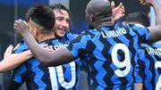 Serie A : L'Inter Milan écarte (difficilement) Vérone et fonce vers le titre, Lukaku muet... mais décisif