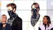 Le masque est devenu un nouvel accessoire de mode
