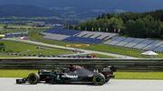 Hamilton domine aussi la 2e séance libre en Autriche, doublé Mercedes