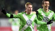 Wolfsburg, avec De Bruyne passeur et double buteur, s'offre le grand Bayern