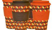 La Bamboo Cup, le mug biodégradable au look seventies