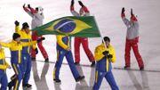 La délégation brésilienne