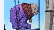 Une nouvelle fresque dans le quartier des quais.