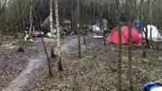 L'incendie n'a pas touché les tentes
