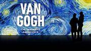 L'exposition immersive dans les toiles de Van Gogh prolongée jusqu'au 10 mars à la Bourse