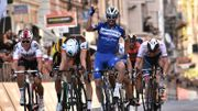 Alaphilippe devance Naesen au sprint à San Remo, Van Aert 6ème