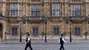 Le Parlement de Westminster, suspendu jusqu'au mois d'octobre.
