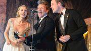 Le prince William, pop star d'un soir aux côtés de Bon Jovi et Taylor Swift