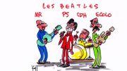 Illustration du débat de Mise au Point, par Pierre Kroll