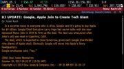Le Dow Jones annonce par erreur le rachat d'Apple par Google