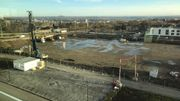 L'immense terrain sur lequel sera érigé le Légiapark dans quelques mois