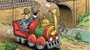 Bob et Bobette sont à Train World pour leur nouvel album