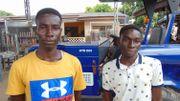 Kwesi et James Ansah produisent de l'électricité en utilisant les rebuts de manioc
