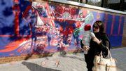 """A Téhéran, l'anti-américanisme demeure sur les murs du """"nid d'espions"""""""