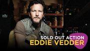 Sold out action : Eddie Vedder à Forest National