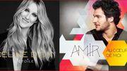 Les deux nouveautés du jour sont signées Céline Dion & Amir !
