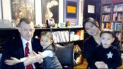 L'inoubliable expert de retour à la télé avec femme et enfants