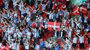 Euro 2020: quand les supporters du Danemark et de la Finlande s'unissent pour Christian Eriksen