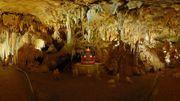 L'orgue des cavernes, cet instrument monumental fait chanter les stalactites