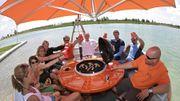 """Nouveauté: """"Grill Island"""" ou le barbecue flottant..."""
