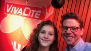 Vivacité en concert en direct du Forum de Liège avec Lou ce samedi !