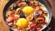 Recette : Oeufs cocotte aux calamars à l'espagnole