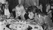 Johnny et Sylvie Vartan fêtent leurs anniversaires en 1967