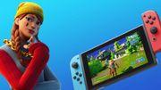 Fortnite s'améliore sur Nintendo Switch