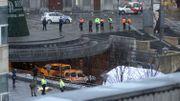 Le 13 décembre 2011, le corps sans vie du tueur de la Place Saint-Lambert, après une panique générale dans tout le centre de Liège