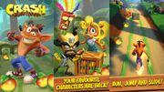 Un nouveau jeu Crash Bandicoot est annoncé sur mobile