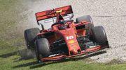 """Leclerc """"privé de bagarre"""" pour la quatrième place, Vettel frustré par sa """"lenteur"""""""