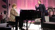 Taron Egerton et Elton John en duo