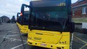 Ce matin à 07 h 45, au dépôt du TEC à Omal. Tous les bus du TEC sont restés sur les aires de stationnement. Aucun chauffeur ne s'est présenté pour prendre le travail.