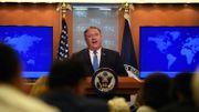 """Les États-Unis créent un """"groupe de travail sur l'Iran"""" pour faire respecter les sanctions"""