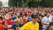20km de Bruxelles: 40.000 participants s'élancent en six vagues successives